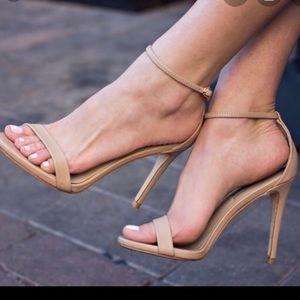 Steve Madden Tan Stecy Heels